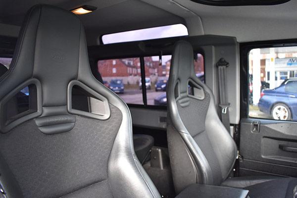 Land Rover Defender 90 SVX Interior