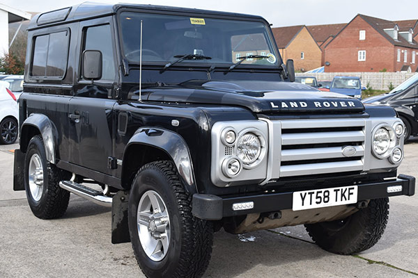 Land Rover Defender 90 SVX 2008