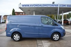 FORD TRANSIT CUSTOM 270 LIMITED METALLIC BLUE RARE COLOUR VAN LOW MILES - 1952 - 5