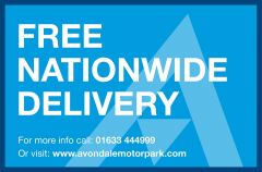 FORD TRANSIT 350 RARE BRITISH GAS 4X4 AWD BLUE VAN SHELVING AIR CON  - 2435 - 2