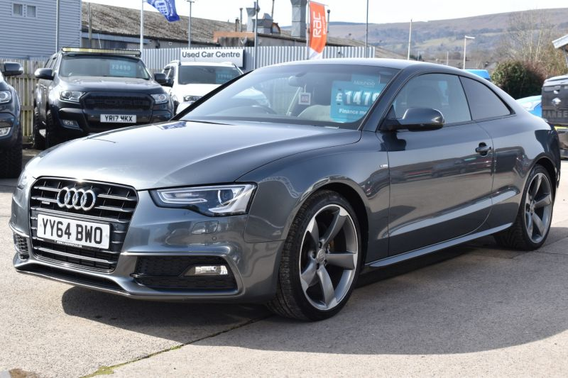 Used AUDI A5 S LINE AUTOMATIC in Cwmbran, Gwent for sale