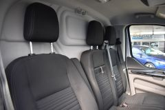 FORD TRANSIT CUSTOM 300 LIMITED  ECOBLUE EURO 6 SILVER VAN  - 2830 - 8