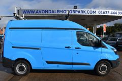 FORD TRANSIT CUSTOM 330 L2 H2 LWB HIGH ROOF VAN BRITISH GAS BLUE VAN - 2585 - 6