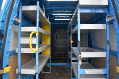 FORD TRANSIT CUSTOM 330 L2 H2 LWB HIGH ROOF TWIN SIDE DOOR AIR CON SHELVING VAN - 2770 - 3