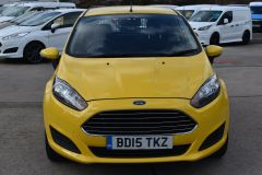 FORD FIESTA USED FIESTA YELLOW VAN ECONETIC TDCI 95 PS WITH AIR CON AND NO VAT TO PAY - 2184 - 9