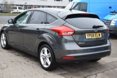 FORD FOCUS ZETEC EDITION GREY SAT NAV AIR CON FAMILY CAR LOW MILES TDCI - 2802 - 5