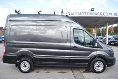 FORD TRANSIT 350 LEADER L2 H3 MWB HIGH ROOF GREY RARE VAN SHELVING LADDER RACK ECOBLUE EURO 6 - 2620 - 7