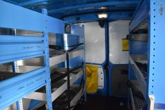 NISSAN PRIMASTAR DCI BRITISH GAS BLUE VAN SHELVING AIR CON L2 LWB - 2871 - 3