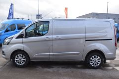 FORD TRANSIT CUSTOM 300 LIMITED  ECOBLUE EURO 6 SILVER VAN  - 2830 - 4