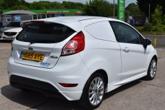 FORD FIESTA SPORT CAR DERIVED VAN WITH SAT NAV CRUISE AND AIR CON - 2294 - 5
