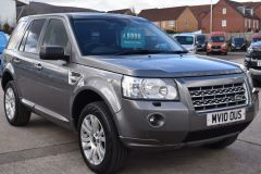 LAND ROVER FREELANDER TD4 HSE AUTOMATIC GREY FAMILY CAR 4X4 SAT NAV CRUISE  - 2851 - 9