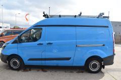 FORD TRANSIT CUSTOM 330 L2 H2 LWB GAS VAN TWIN SIDE DOORS - 2509 - 4