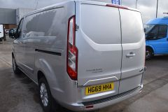 FORD TRANSIT CUSTOM 300 LIMITED  ECOBLUE EURO 6 SILVER VAN  - 2830 - 5