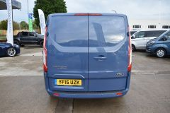 FORD TRANSIT CUSTOM 270 LIMITED METALLIC BLUE RARE COLOUR VAN LOW MILES - 1952 - 17