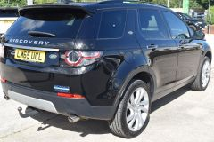 LAND ROVER DISCOVERY SPORT TD4 HSE LUXURY METALLIC BLACK 7 SEATER FAMILY CAR - 2367 - 4