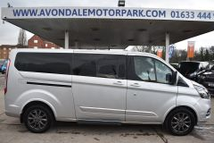 FORD TOURNEO CUSTOM 310 TITANIUM 170 BHP MINIBUS 9 SEATER LWB L2 LEATHER NAV REVERSE CAM - 2228 - 8