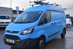 FORD TRANSIT CUSTOM 330 LWB L2 H2 BRITISH GAS BLUE VAN  - 2590 - 1