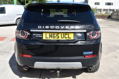 LAND ROVER DISCOVERY SPORT TD4 HSE LUXURY METALLIC BLACK 7 SEATER FAMILY CAR - 2367 - 7