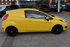 FORD FIESTA USED FIESTA YELLOW VAN ECONETIC TDCI 95 PS WITH AIR CON AND NO VAT TO PAY - 2184 - 10