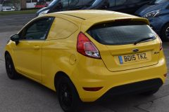 FORD FIESTA USED FIESTA YELLOW VAN ECONETIC TDCI 95 PS WITH AIR CON AND NO VAT TO PAY - 2184 - 5