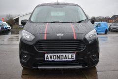 FORD TRANSIT COURIER SPORT BLACK VAN TAIL GATE NAV REVERSE CAMERA - 2194 - 13