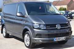 VOLKSWAGEN TRANSPORTER AUTOMATIC DSG T32 T6 204 BHP 4MOTION 4X4 HIGHLINE GREY VAN WITH DIFF LOCK SAT NAV HEATED SEATS - 2248 - 7