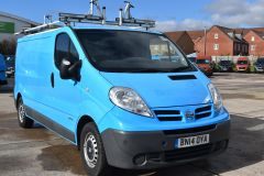 NISSAN PRIMASTAR DCI BRITISH GAS BLUE VAN SHELVING AIR CON L2 LWB - 2871 - 1