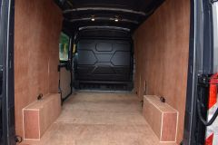 FORD TRANSIT 350 L3 H2 LUNAR SKY GREY LWB EURO 6 SIDE WINDOW VAN IDEAL CAMPER CONVERSION - 2157 - 10