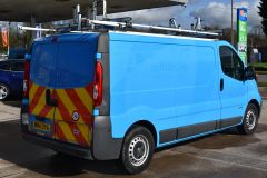 NISSAN PRIMASTAR DCI BRITISH GAS BLUE VAN SHELVING AIR CON L2 LWB - 2871 - 5