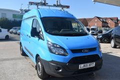 FORD TRANSIT CUSTOM 330 L2 H2 LWB HIGH ROOF GAS VAN TWIN SIDE DOORS - 2522 - 6