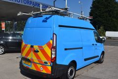 FORD TRANSIT CUSTOM 330 L2 H2 LWB HIGH ROOF GAS VAN TWIN SIDE DOORS - 2522 - 5