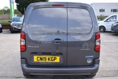 CITROEN BERLINGO 1000 ENTERPRISE M 100 BHP BLUEHDI EURO 6 GREY VAN - 2281 - 9