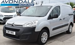 CITROEN BERLINGO 625 ENTERPRISE L1 BLUEHDI SILVER VAN HUGE SPEC - 1917 - 1