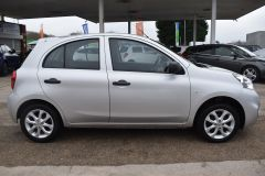 NISSAN MICRA VIBE 1.2 PETROL AIR CON BLUETOOTH SILVER CAR - 2800 - 5