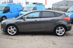 FORD FOCUS ZETEC EDITION GREY SAT NAV AIR CON FAMILY CAR LOW MILES TDCI - 2802 - 4