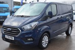 FORD TRANSIT CUSTOM 280 LIMITED AUTOMATIC ECOBLUE EURO 6 BLUE VAN  - 2831 - 1