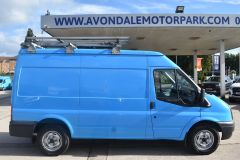 FORD TRANSIT 350 RARE BRITISH GAS 4X4 AWD BLUE VAN SHELVING AIR CON  - 2435 - 6
