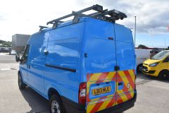 FORD TRANSIT 350 RARE BRITISH GAS 4X4 AWD BLUE VAN SHELVING AIR CON  - 2435 - 4