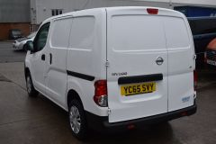NISSAN NV200 DCI ACENTA WHITE VAN TWIN SIDE DOORS - 2083 - 11