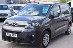 CITROEN BERLINGO 1000 ENTERPRISE M 100 BHP BLUEHDI EURO 6 GREY VAN - 2281 - 1