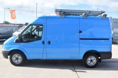 FORD TRANSIT 350 RARE BRITISH GAS 4X4 AWD BLUE VAN SHELVING AIR CON  - 2435 - 3