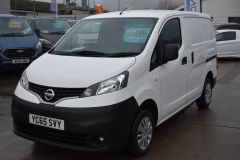 NISSAN NV200 DCI ACENTA WHITE VAN TWIN SIDE DOORS - 2083 - 1