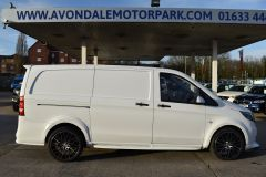 MERCEDES VITO 111 SPORT WIDE ARCH KIT STYLE WHITE VAN TAIL GATE LOW MILES VAN RARE - 2180 - 6