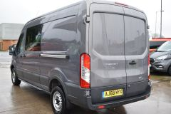 FORD TRANSIT 350 L3 H2 LUNAR SKY GREY LWB EURO 6 SIDE WINDOW VAN IDEAL CAMPER CONVERSION - 2157 - 4