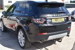 LAND ROVER DISCOVERY SPORT TD4 HSE LUXURY METALLIC BLACK 7 SEATER FAMILY CAR - 2367 - 3