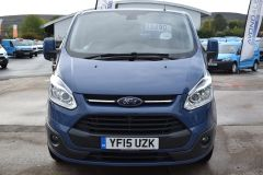 FORD TRANSIT CUSTOM 270 LIMITED METALLIC BLUE RARE COLOUR VAN LOW MILES - 1952 - 16