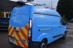 FORD TRANSIT CUSTOM 330 LWB L2 H2 BRITISH GAS BLUE VAN  - 2590 - 7