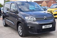 CITROEN BERLINGO 1000 ENTERPRISE M 100 BHP BLUEHDI EURO 6 GREY VAN - 2281 - 8