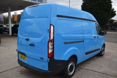 FORD TRANSIT CUSTOM 330 L2 H2 LWB HIGH ROOF BLUE VAN WITH TWIN SIDE DOORS  - 1809 - 5