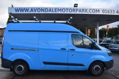 FORD TRANSIT CUSTOM 330 LWB L2 H2 BRITISH GAS BLUE VAN  - 2590 - 6
